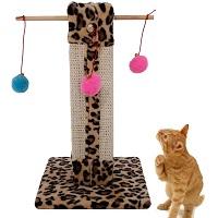 Benjama Scratching Cat Tree Leopard Summary
