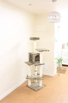 BestPet Leopard Condo Cat Tree Review