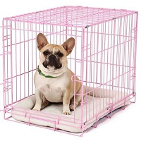 Carlson Pink Metal Dog Crate Summary