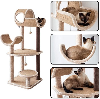 Catry Big Cat Perch Tower Cat Tree Review
