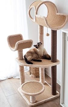 Catry Big Cat Perch Tower Cat Tree