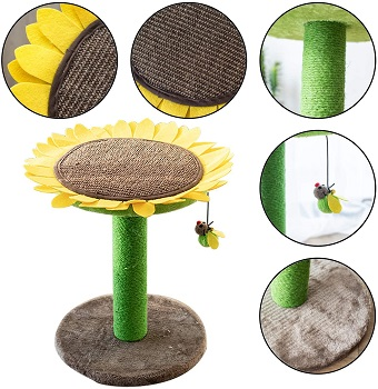 Catry Sunflower Cat Tree Review