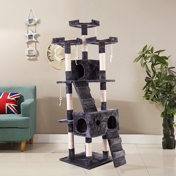 CoziWow Massive Cat Tower Review