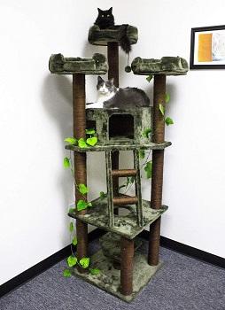 Cozy Cat Furniture Cat Tree House