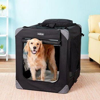 BEST LARGE SOFT COLLAPSIBLE DOG CRATE