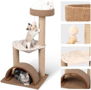 Fukumaru Cat Tree Of Medium Size Review