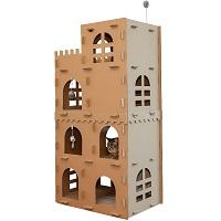 Furhaven Corrugated Cardboard Cat Castle Summary
