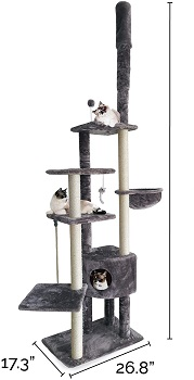 Furhaven Extra Tall Cat Condo Summary