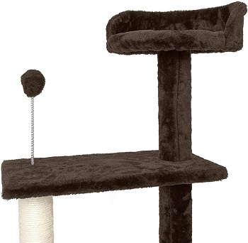 Furhaven Spiral Tower For Cats