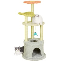 Furrytail Scratching Tree For Cats Summary