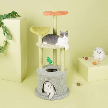Furrytail Scratching Tree For Cats