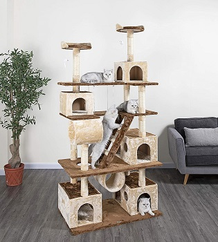 Go Pet Club 87'' Tree For Cats