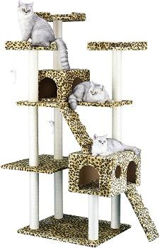 Go Pet Club Leopard Cat Tower Review