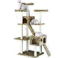 Go Pet Club Leopard Cat Tower Summary
