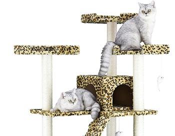 Go Pet Club Leopard Cat Tower