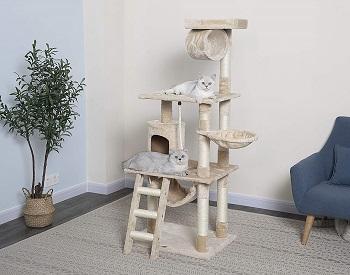 Go Pet Club Multi-Cat Cat Tree