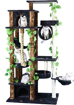Go Pet Club Real Cat Tower