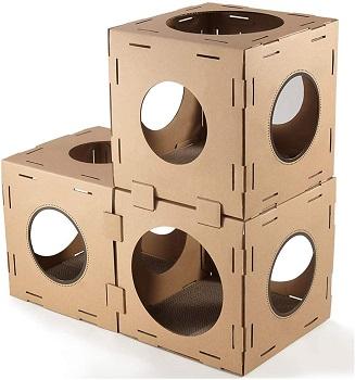 Golden Tech Cat Cube