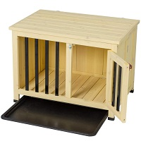 Good Life Foldable Wood Dog Crate Summary