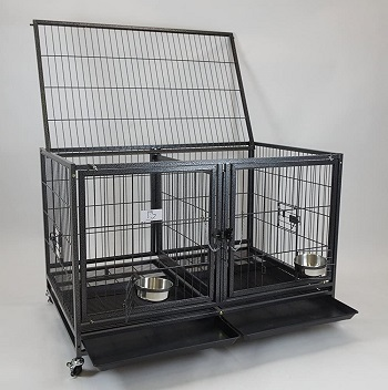 BEST HEAVY DUTY 42 INCH CRATE WITH DIVIDER