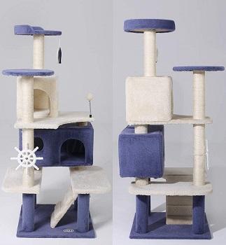 Hyabi Cat Tree Condo With Wheel Review