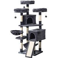 Ibuyke Sturdy Cat Tower For Large Cats Summary