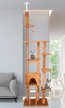 Kinbor Cat Tree Tall Slim