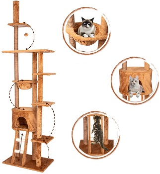 Kinbor Sisal Scratching Cat Tower Review
