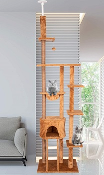 Kinbor Sisal Scratching Cat Tower