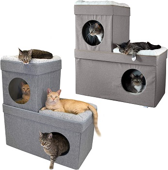 Kitty City Simple Cat Condo Review