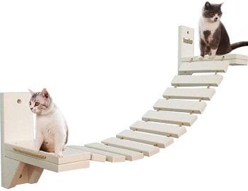 La La Pet White Cat Tree Modern Review