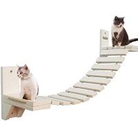 La La Pet White Cat Tree Modern Summary