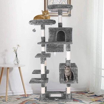 Lazy Buddy Huge Cat Tree House Review