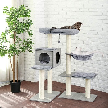Made 4 Pets All-In-One Cat Tower