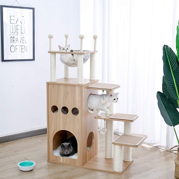 Made4Pets Design Tower For Cats
