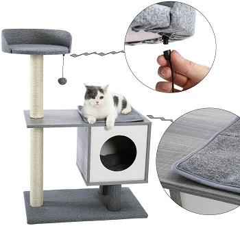 Made4Pets Medium Cat Tree Grey Review