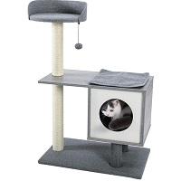 Made4Pets Medium Cat Tree Grey Summary