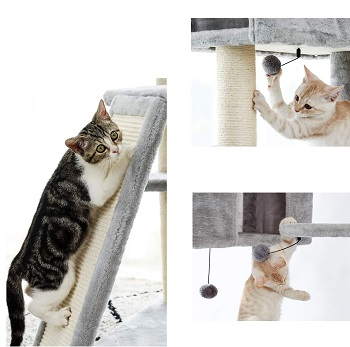 Made4Pets Multi-Level Cat Tower Review