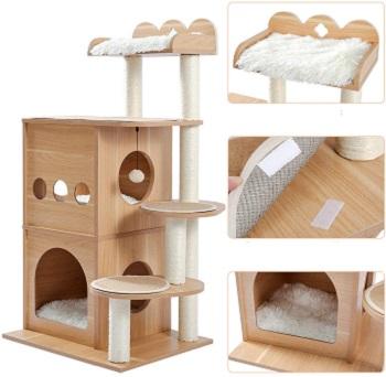 Made4Pets Spacious Cat Condo Tower Review