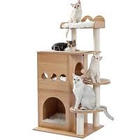 Made4Pets Spacious Cat Condo Tower Summary