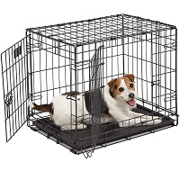 MidWest Homes For Pets Wire Dog Crate Summary