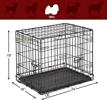 MidWest Homes For Pets Wire Dog Crate