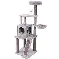 Pawz Cat Tower Gray Summary