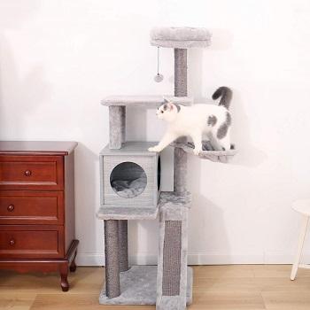 Pawz Cat Tower Gray