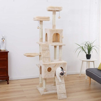Pawz Tower Cat Tree Huge Review