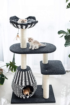 PetPals Ace Sphere Tree For Cats