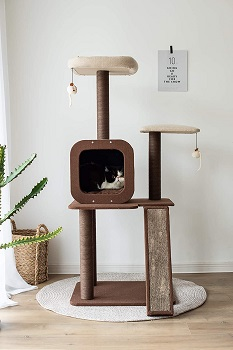 PetPals Four-Level Voyage Tree For Cats Review