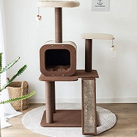 PetPals Four-Level Voyage Tree For Cats Summary