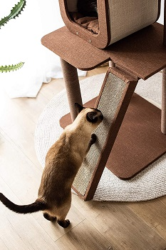 PetPals Four-Level Voyage Tree For Cats