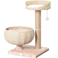 PetPals Small Natural Sphere Cat Tower Summary